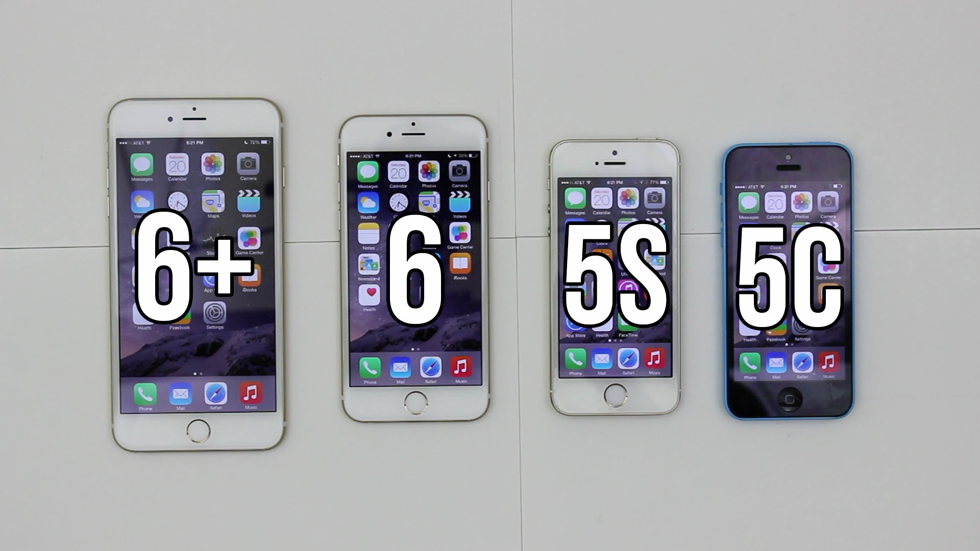 iphone 5s and iphone 6 comparison
